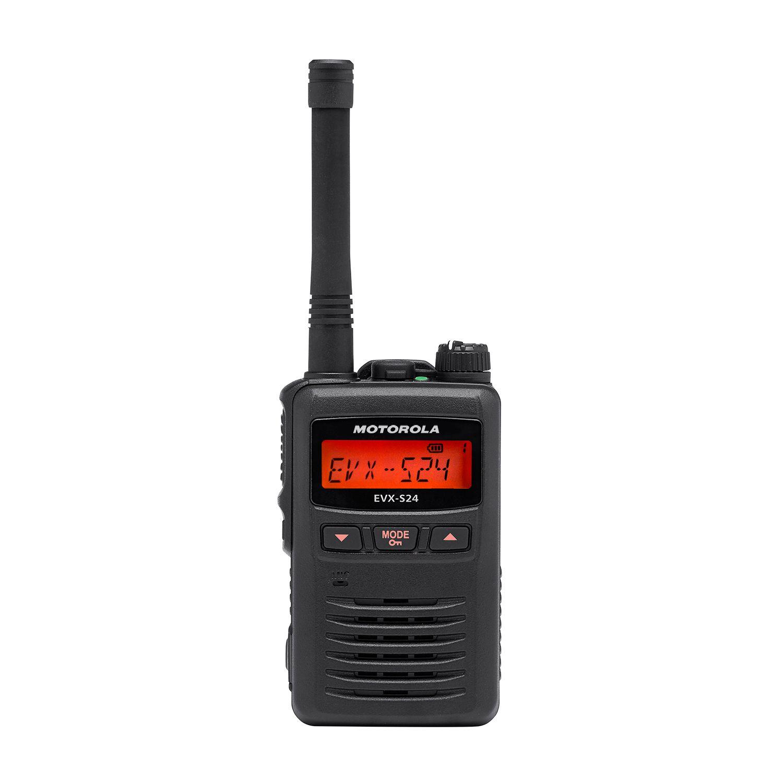 EVX-S24 Portable Digital Two-Way Radio - Motorola Solutions Asia Pacific