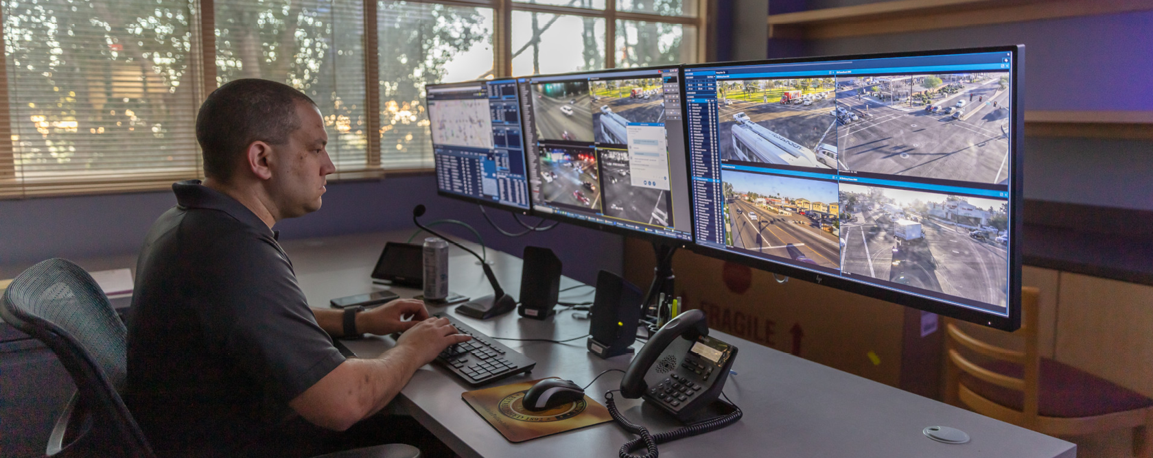 Glendale PD Real-Time Crime Center